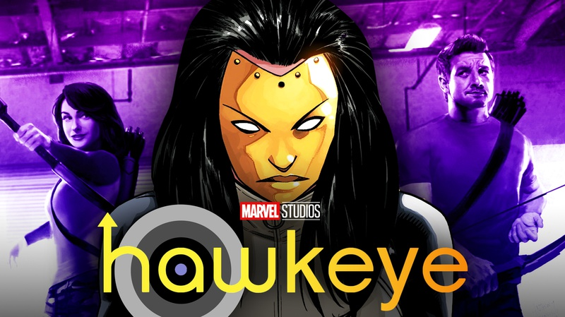 Madame Masque, Kate Bishop, Hawkeye