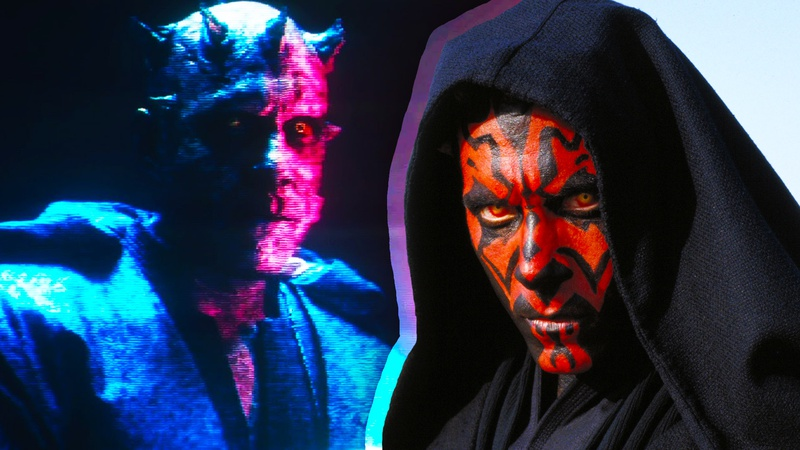 Darth Maul in Solo and The Phantom Menace