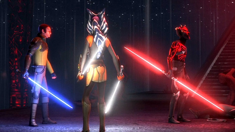 Star Wars Rebels Lightsabers