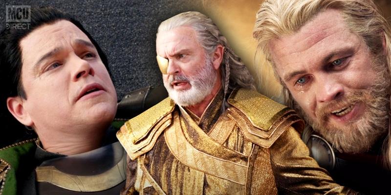 Matt Damon, Sam Neill, and Luke Hemsworth
