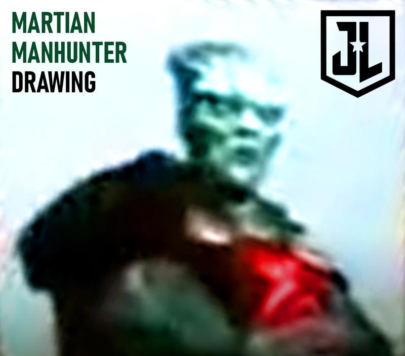 mmdraw - Zack Snyder comparte diseños de Darkseid y el Detective Marciano