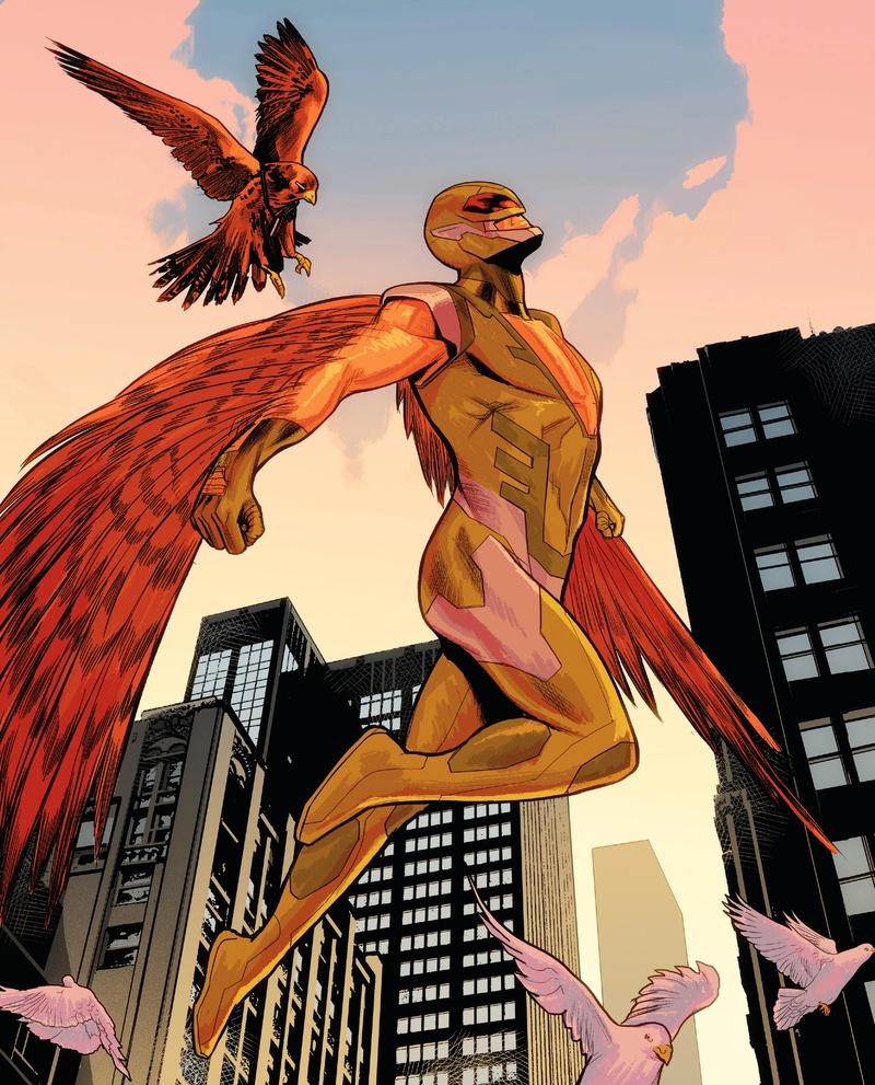 Torres Falcon Marvel Comics