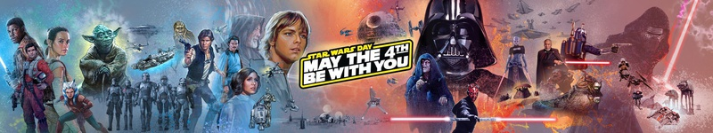 Star Wars Day Banner 2021
