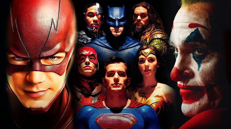 CW Flash, Justice League, Joaquin Phoenix's Joker