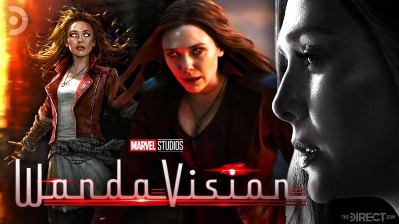 Scarlet Witch WandaVision logo