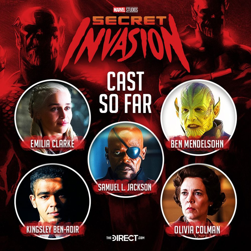 Marvel Secret Invasion Cast