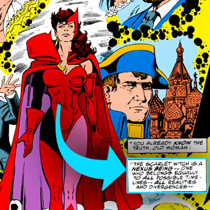 Scarlet Witch comic