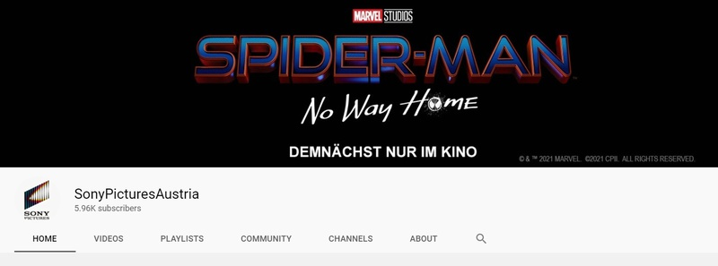 Spider-Man No Way Home Sony