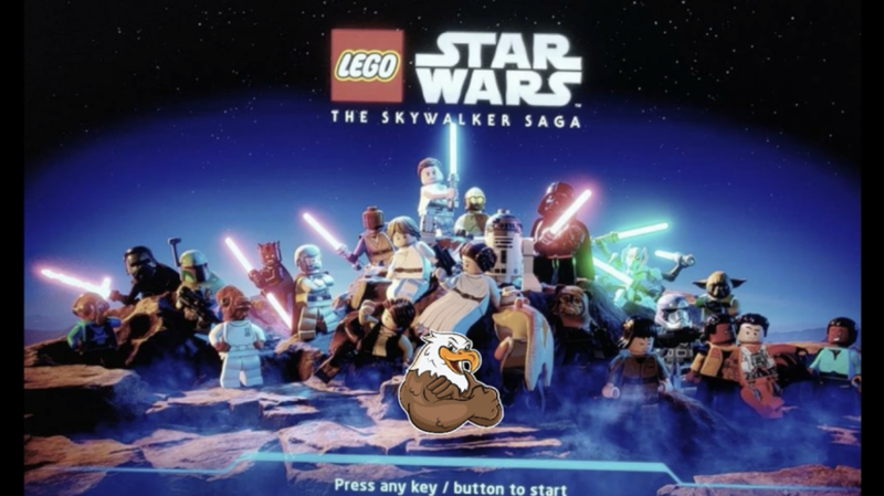 Leaked Title Screen of LEGO Star Wars