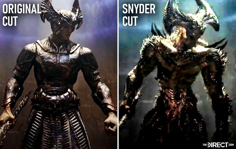 Zack Snyder's Justice League: Low-Res Steppenwolf Image Reveals Snyder Cut  Character Design