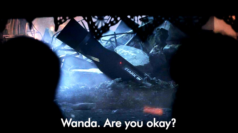 WandaVision Stark Industries Missile