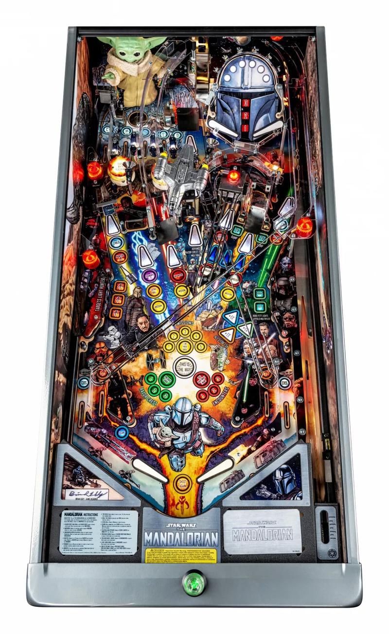 The Mandalorian Pinball Machine Eagle Eye