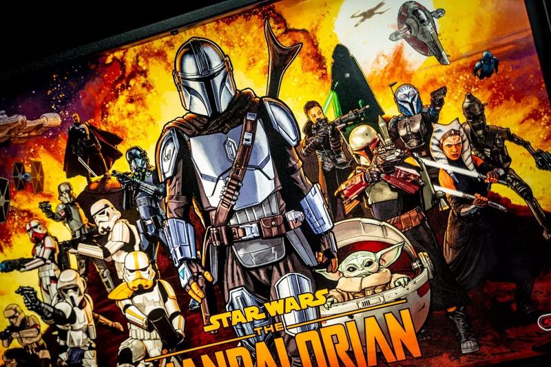 The Mandalorian Pinball Secondary Background