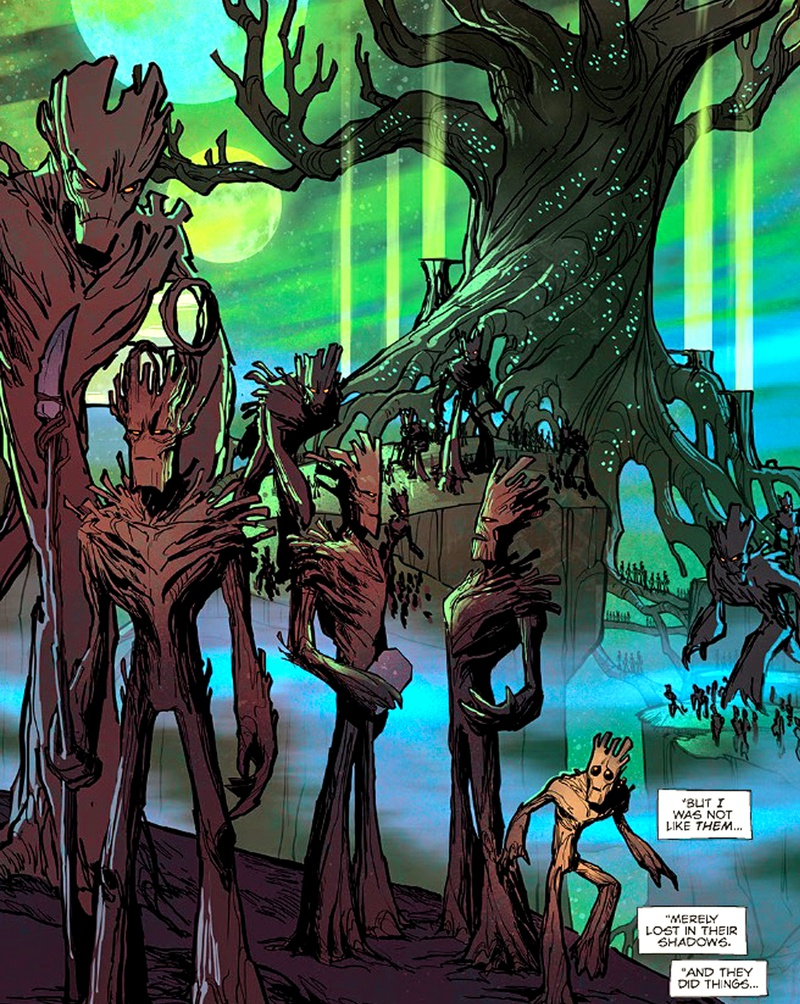 Groot Planet X Guardians of the Galaxy Comics