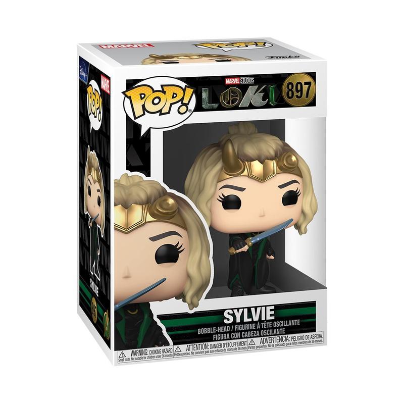 Loki Sylvie Funko Box