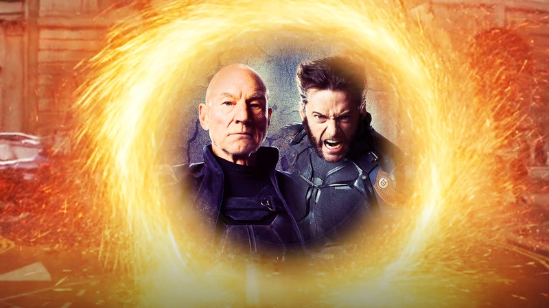 Wolverine and Professor X in Portal