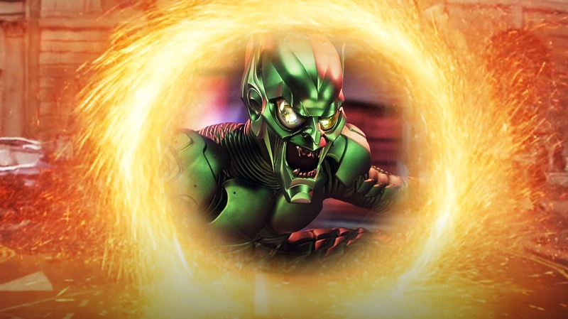 Willem Dafoe's Green Goblin in Portal