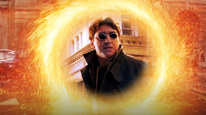 Alfred Molina's Doctor Octopus in Portal