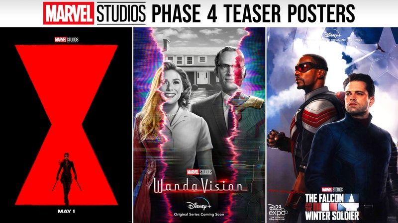 MCU Phase 4 posters