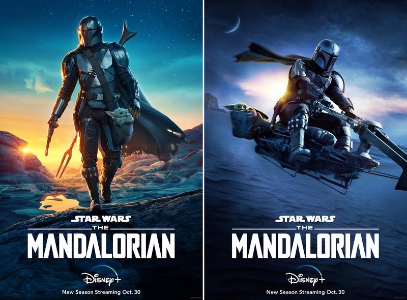 The Mandalorian Season 2 posters