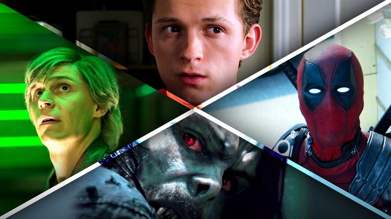Quicksilver, Morbius, Deadpool, Peter Parker