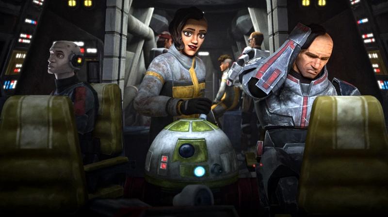 R7 Droid Star Wars: The Bad Batch