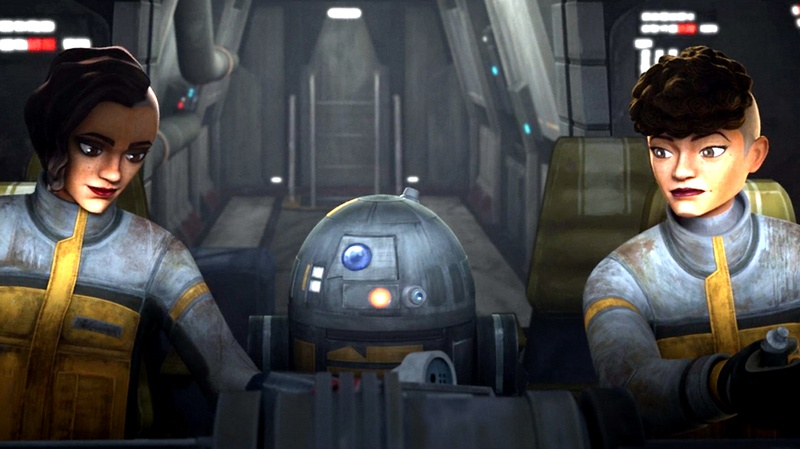 Star Wars: The Bad Batch R7 Droid