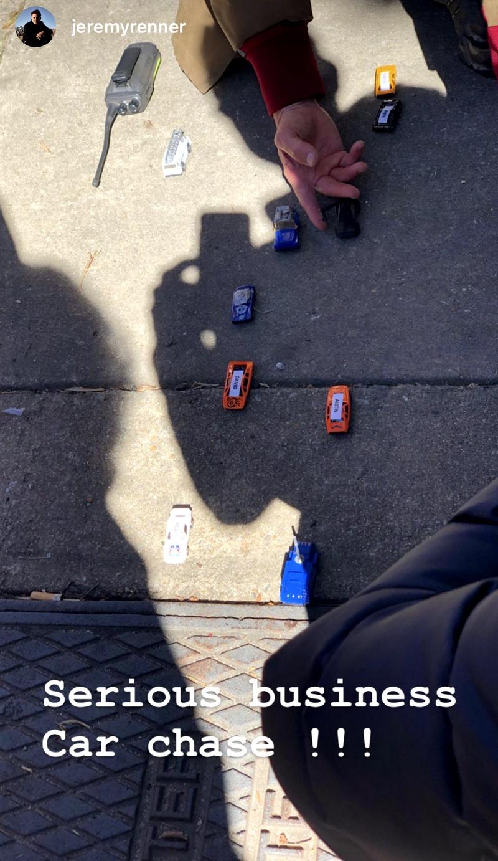 Hawkeye Car Chase Toys