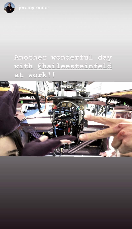 Hawkeye Car Stunt Camera Chase