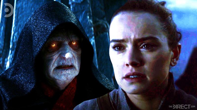 Palpatine and Rey