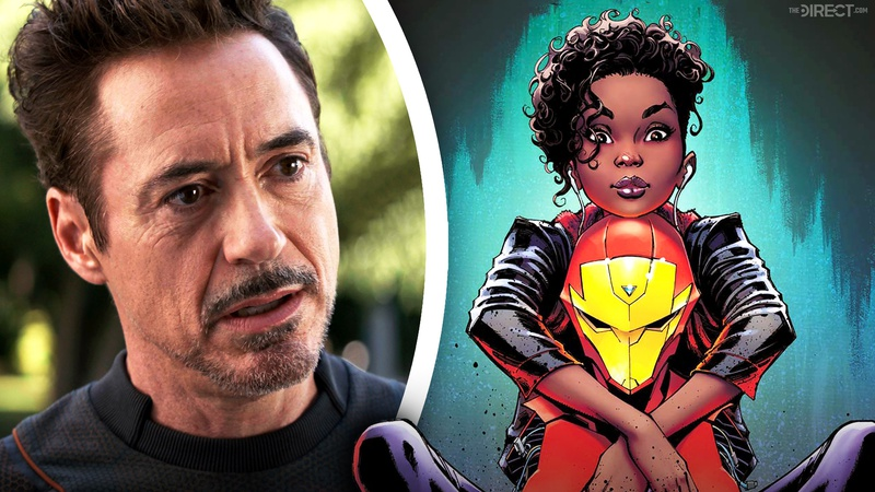 Tony Stark Riri Williams