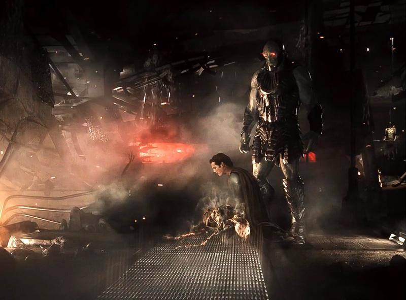 Zack Snyder's Justice League Knightmare Scene Darkseid