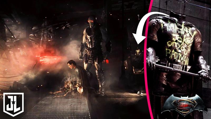 Zack Snyder's Justice League Knightmare Scene Robin Easter Egg