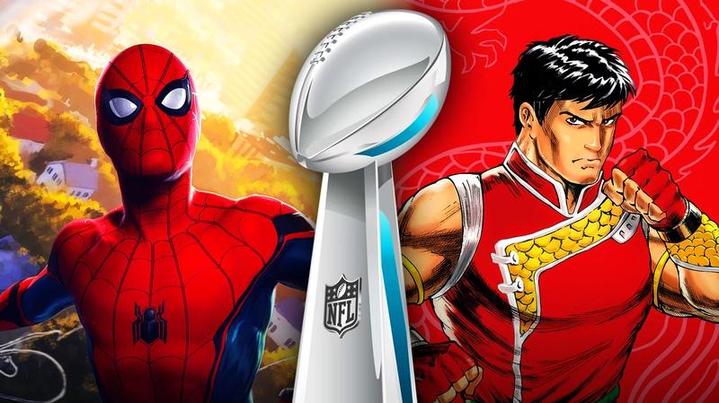Spider-Man Shang-Chi Super Bowl