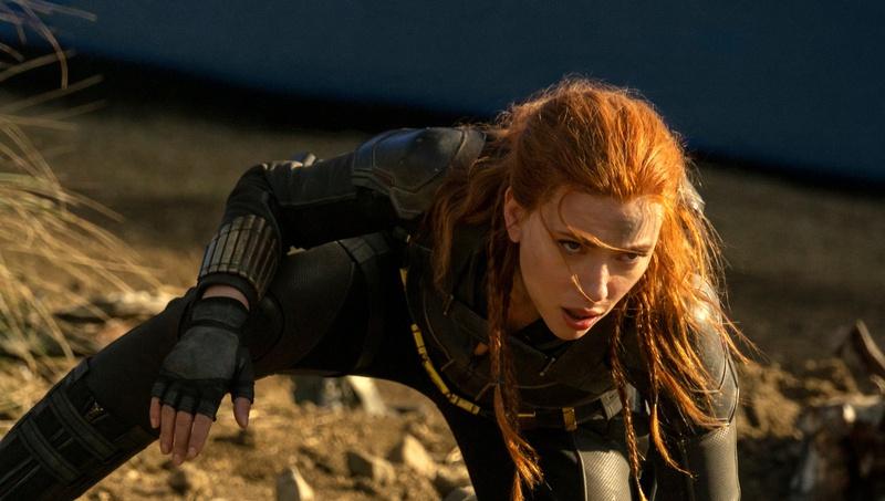 Scarlett Johansson Black Widow Preview