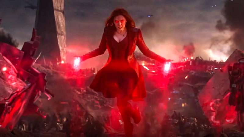 Wanda Maximoff Avengers: Endgame final battle