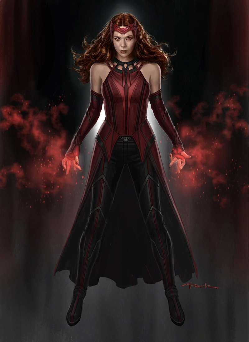 The Scarlet Witch WandaVision Concept Art