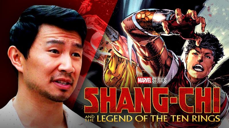 Simu Liu and Shang-Chi