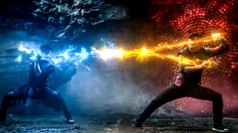 Shang-Chi Fight Father Son