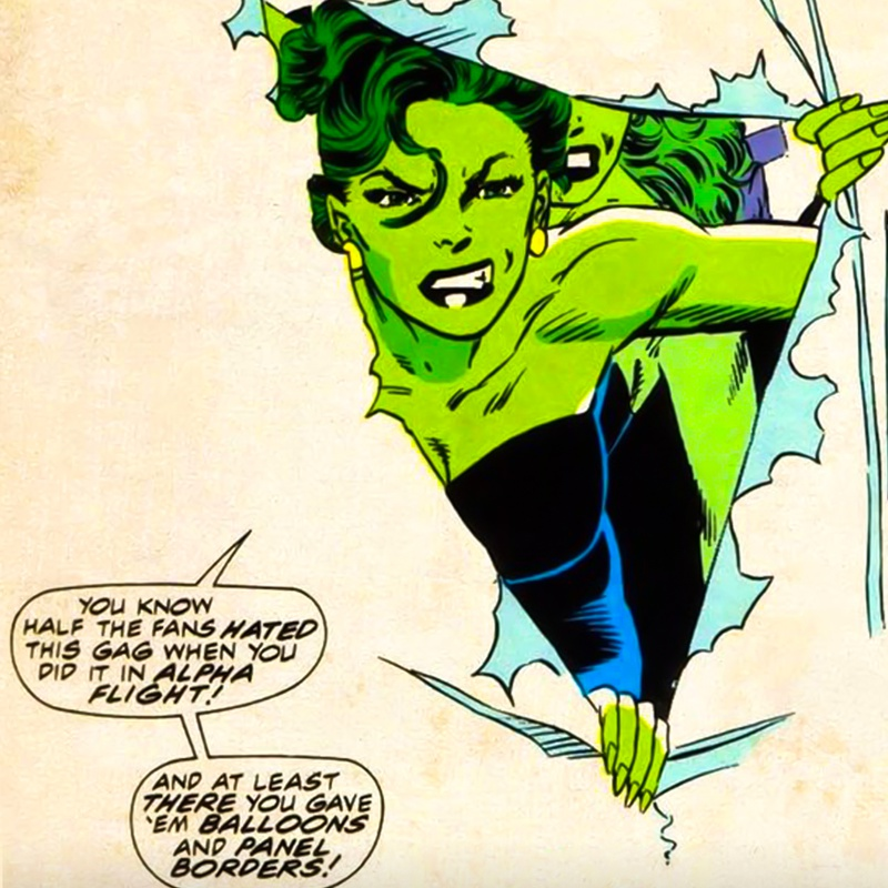 She-Hulk Fourth Wall