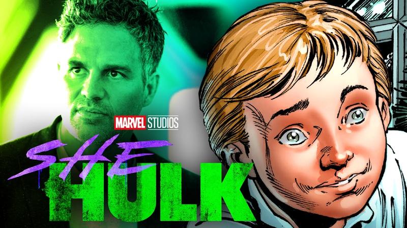 Mark Ruffalo, young Bruce Banner comics
