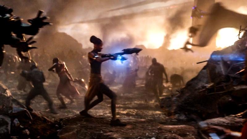 Shuri Avengers Endgame battle