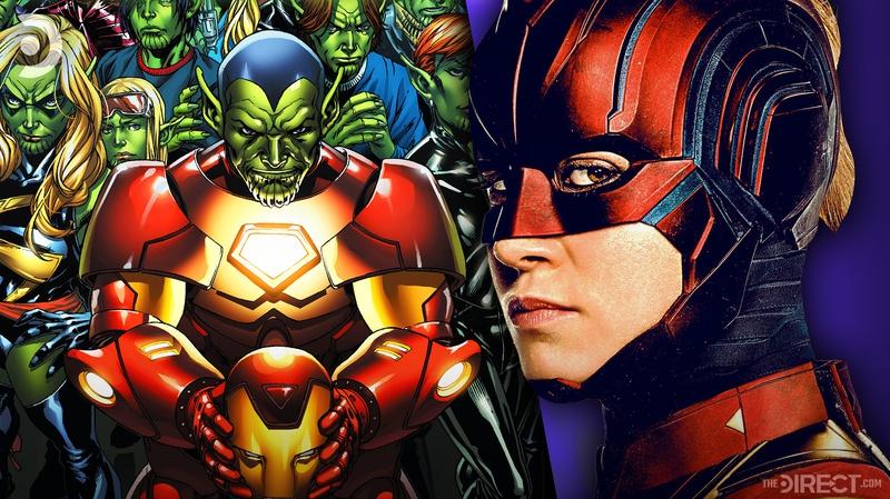Skrulls Captain Marvel