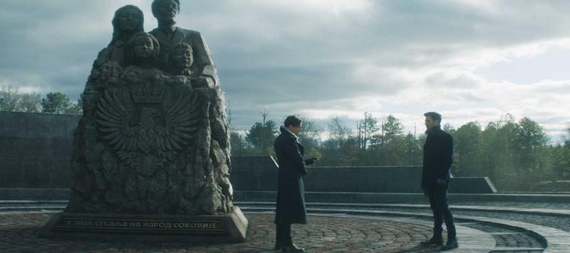 The Falcon and the Winter Soldier, Bucky Barnes, Zemo, Sokovia memorial