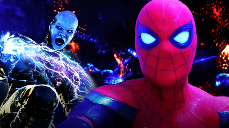 Electro and Spider-Man