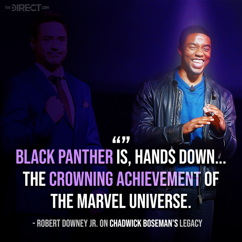 RDJ quote on Chadwick Boseman