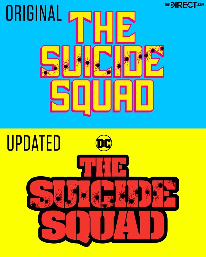 Suicide Squad Logo, Original and Updated