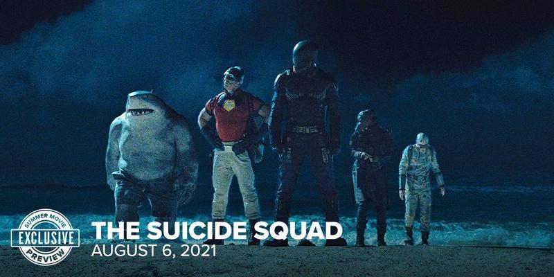 The Suicide Squad, King Shark, John Cena, Idris Elba