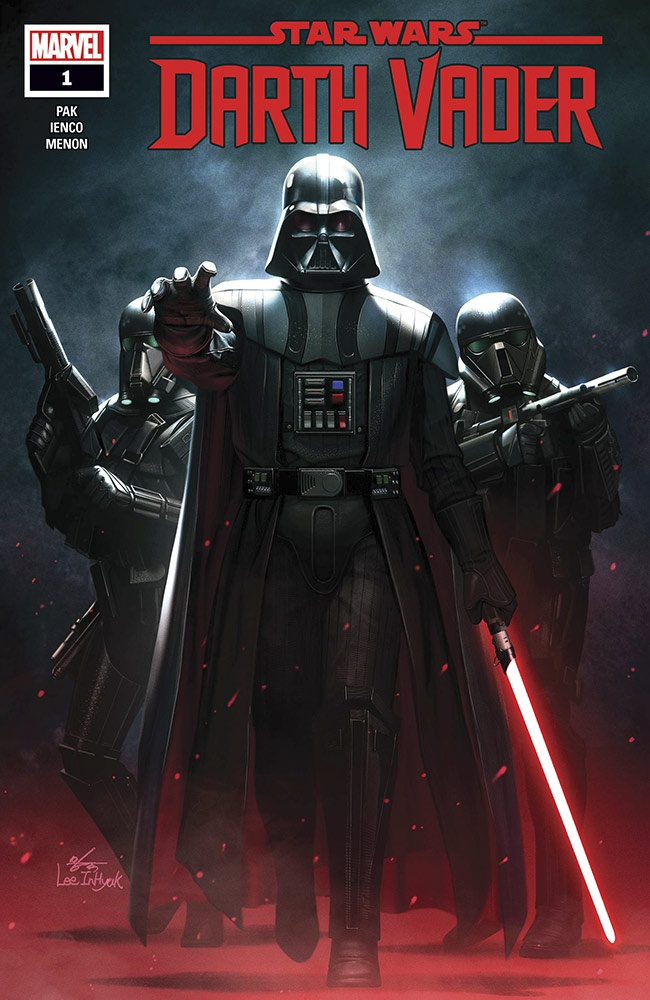 Marvel's Darth Vader Cover Art