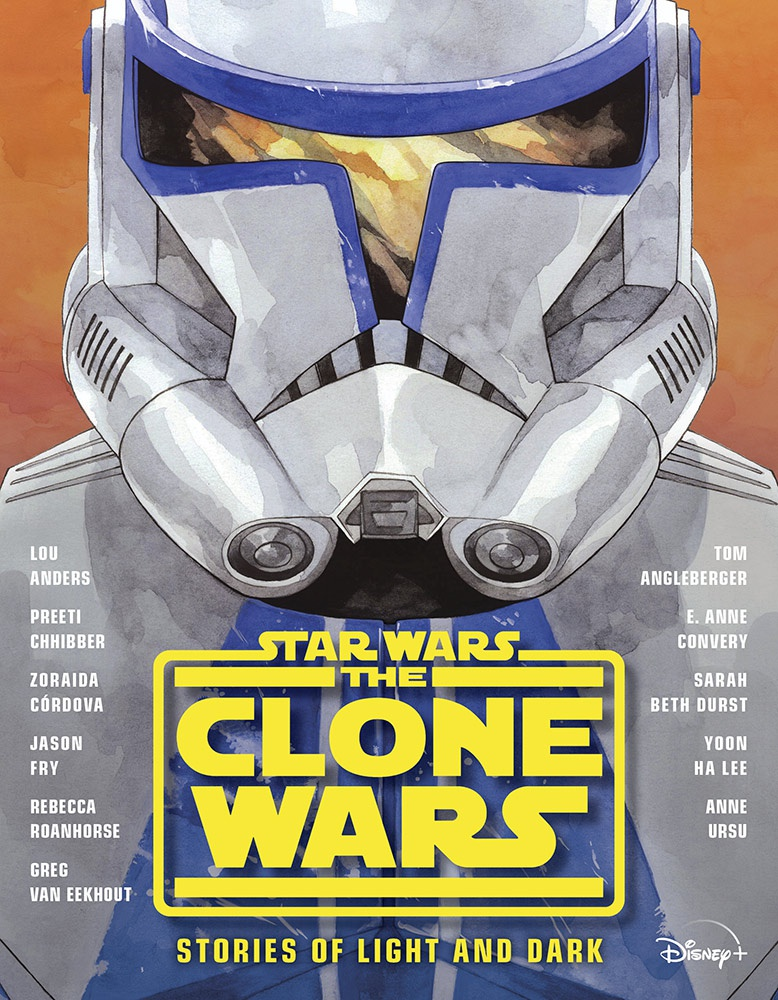 The Star Wars: The Clone Wars – Stories of Light and Dark Cover Art